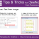 Tips and Tricks for OneNote users: Extract text from pictures with MS OneNote.