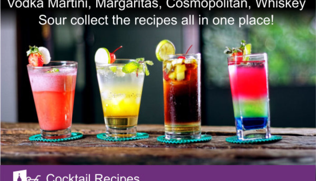 Vodka Martini, Margaritas – collect the recipes all in one place using this OneNote template.