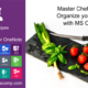 Master chef anyone? Organize your favourite cooking recipes with this MS OneNote template.