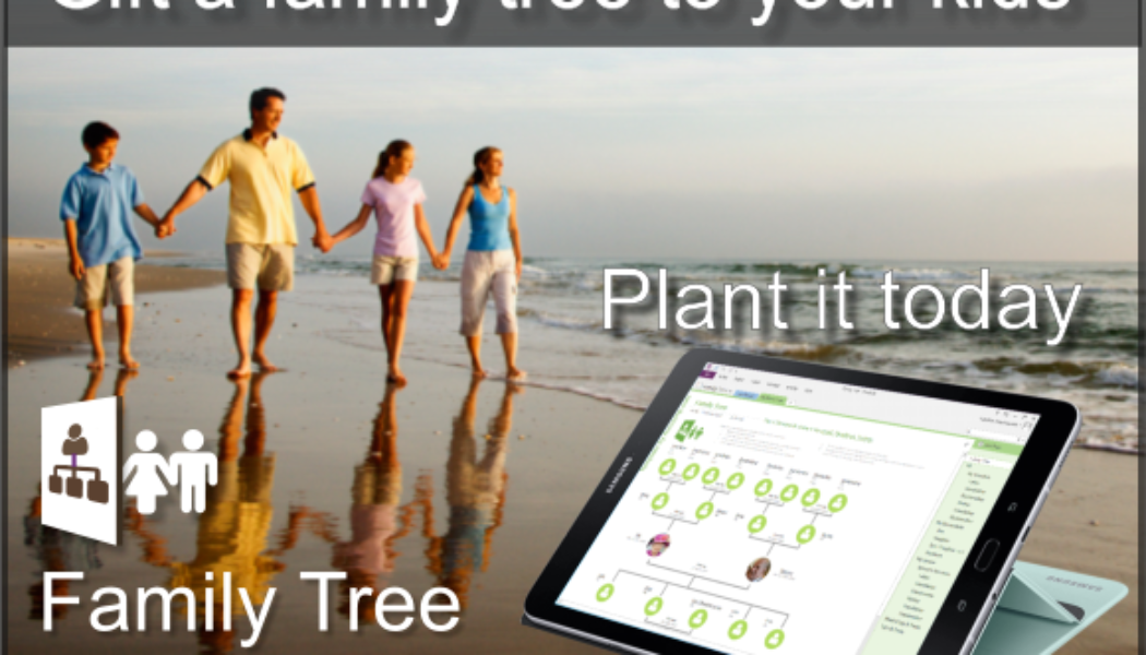 """Free MS #OneNote """"Family Tree"""" #template. It's free so please retweet. Estate Planners DM us for your own branded version.  #ancestry #KidsDeserveIt #ancestors #estateplanning"""