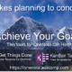 It takes planning to achieve your goals. Use this free tools to get started.