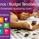 """MS #OneNote """"Finance & Budget"""" #template. Keep an eye on your spending!"""
