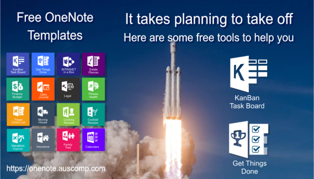 It takes planning to achieve your goals. Use this OneNote tools to get started.  Please RT.