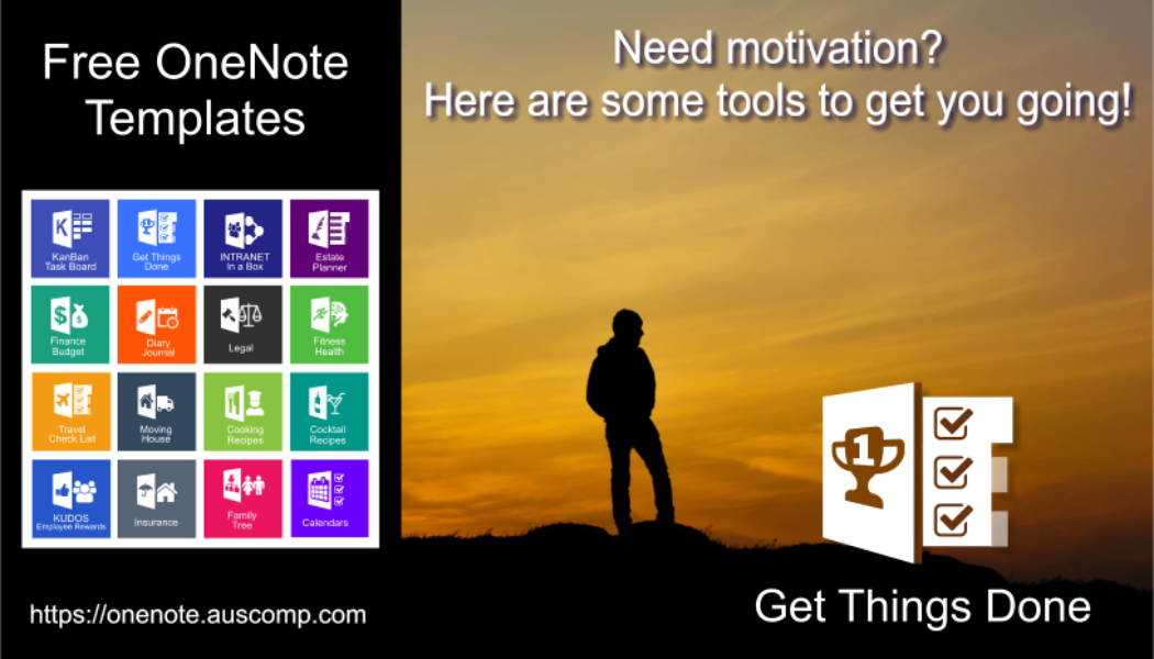 """Download the """"Get Things Done"""" template for OneNote."""