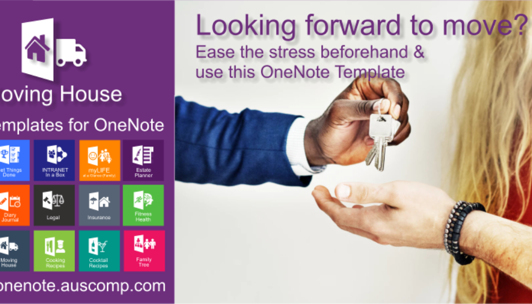 Realtors & Real Estate Agents promote this free MovingHouse template for OneNote to your clients.