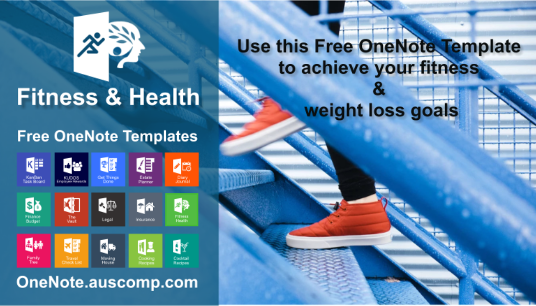 To help get your fitness underway use this free OneNote Template! Please RT.