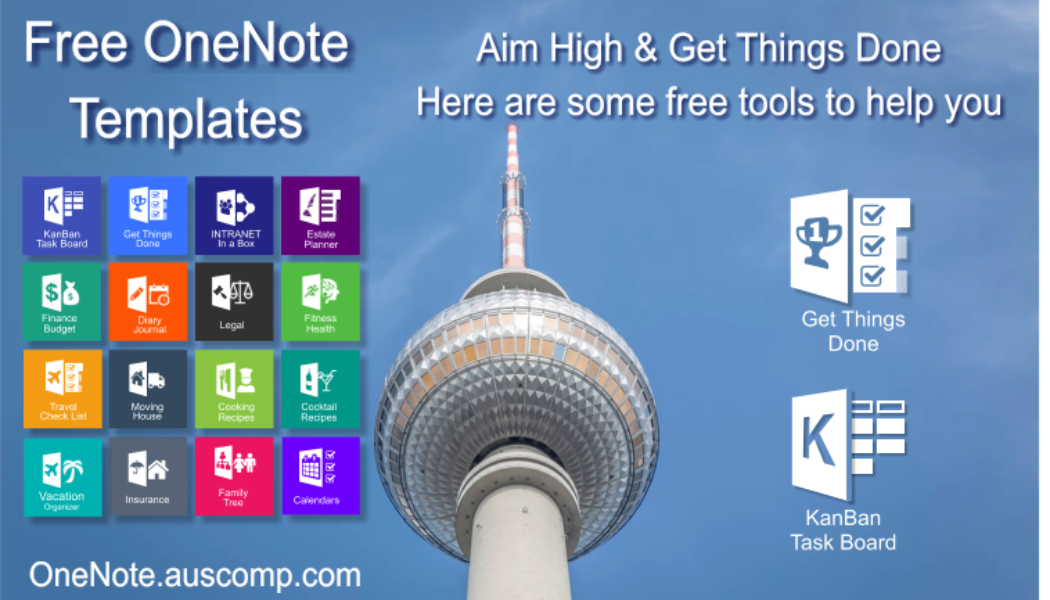 Aim High & Get Things Done. Here are some free tools to help you.  Please RT.