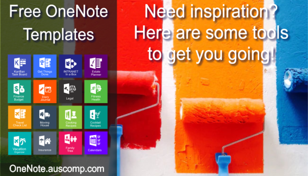 Collection of Free & Pro MS OneNote templates. KanBan, GTD, Planners, Teams, Projects, Family Tree, Estate Planner.