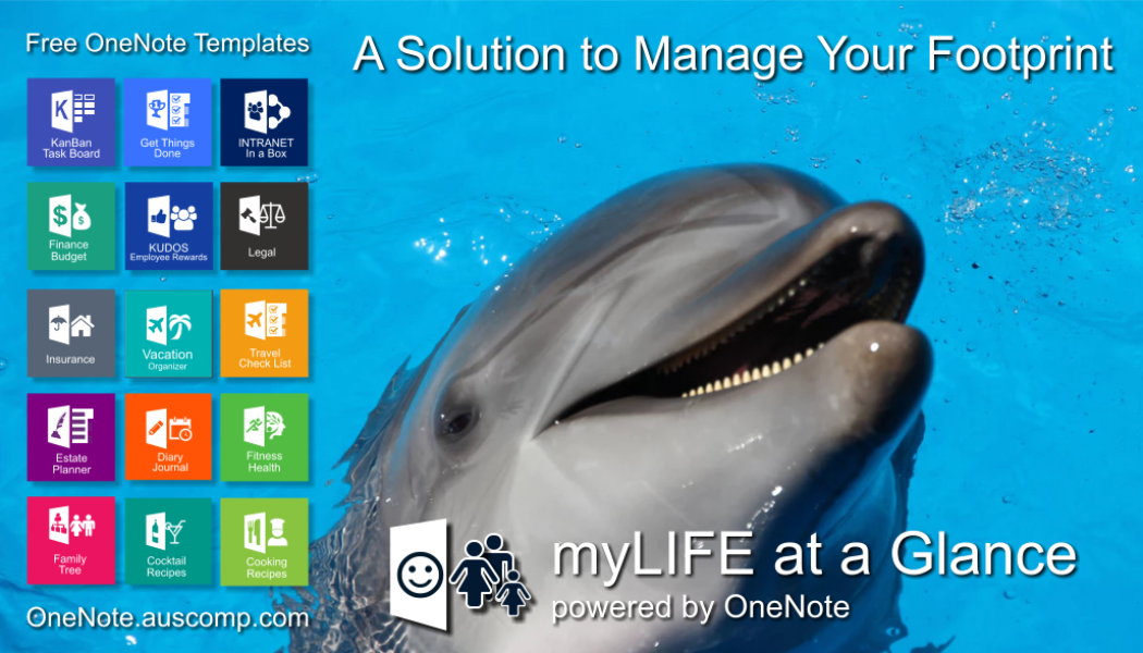 Have you thought about what happens to your life's footprint? Manage it with myLIFE powered by OneNote.