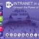 Intranet powered by OneNote.