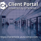 Collaborate securely with your clients using your own Client Portal powered by OneNote.