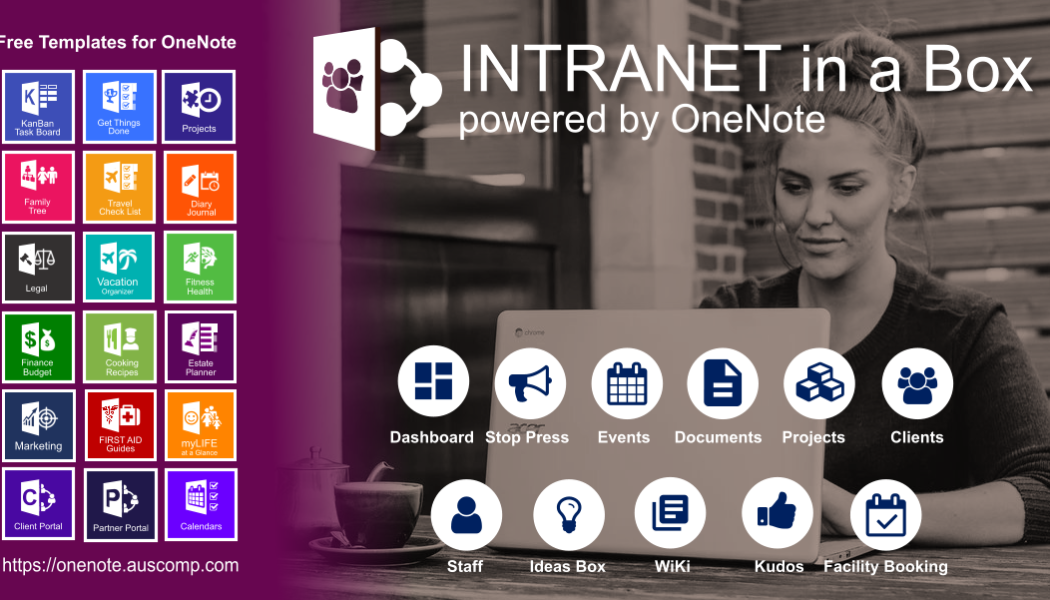 Intranet for Freelancer or Sole-trader powered by Office365 and OneNote. Please share.