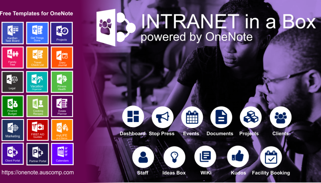 Intranet for Freelancers and Sole-traders powered by Office365 and OneNote. Please share.