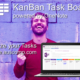 You can Visualize your Tasks in an easy to use KanBan Board for MS OneNote