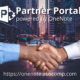 Self-serve Partner Portal powered by OneNote. Improved Partner Engagement. Please Share.