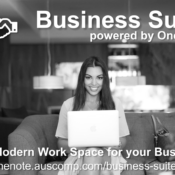 Business Suite powered by OneNote. The Modern Work Space Solution for your Business. Please RT.
