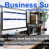 Business Suite powered by OneNote. The Modern Digital Work Space for your Business. Please RT.