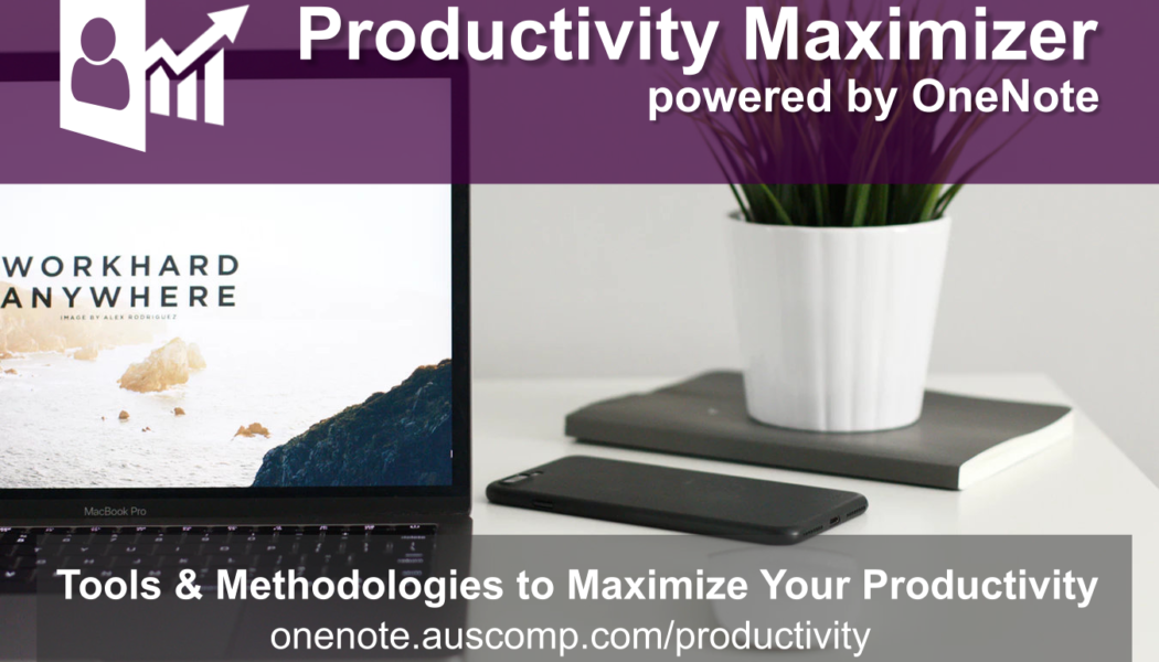 Maximize Your Productivity using MS OneNote. Please RT.