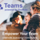 Empower your team with Teams for OneNote. Please share.