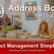Address Book for OneNote – Contact Management Simplified. Please Share.