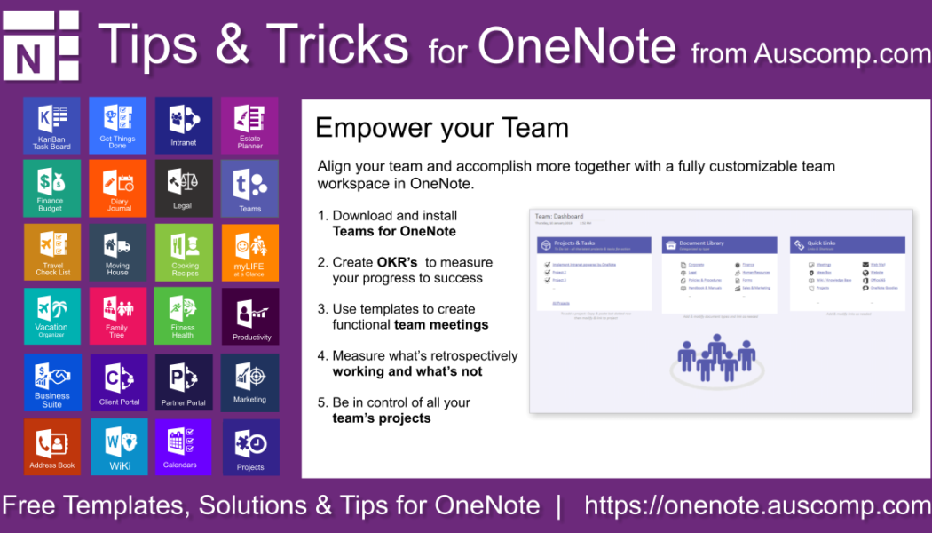 Tips and Tricks for OneNote users: Teams for OneNote – Empowerment