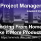 Working from home? Make it more productive!