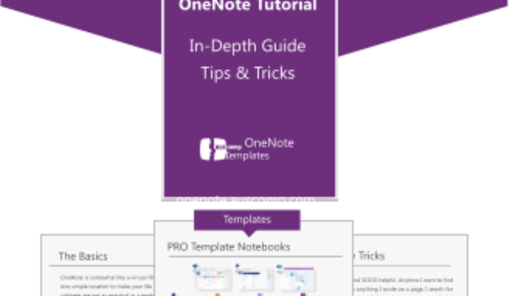 OneNote Tutorial – Complete Guide and Tips to use OneNote like a Professional