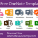 10 Free MS OneNote templates. Planners, Diary, Fitness, Cooking, Insurance, MoveHouse, FamilyTree, Travel, Legal & Finance